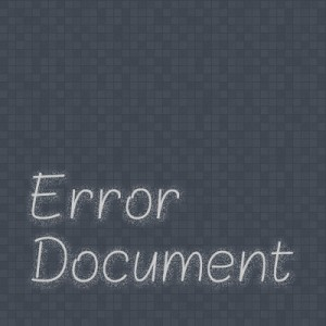 Post image for Set Error Document with .htaccess