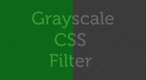Post image for Cross Browser Grayscale Images with CSS Filter