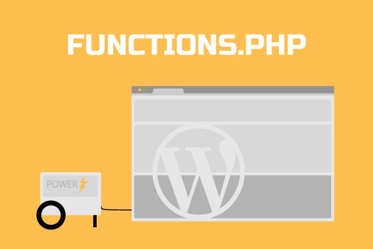 Tweaks to WordPress Function.php file